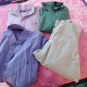 Lot of polo shirts